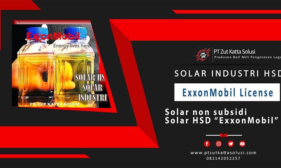 solar industri exxon mobil surabaya